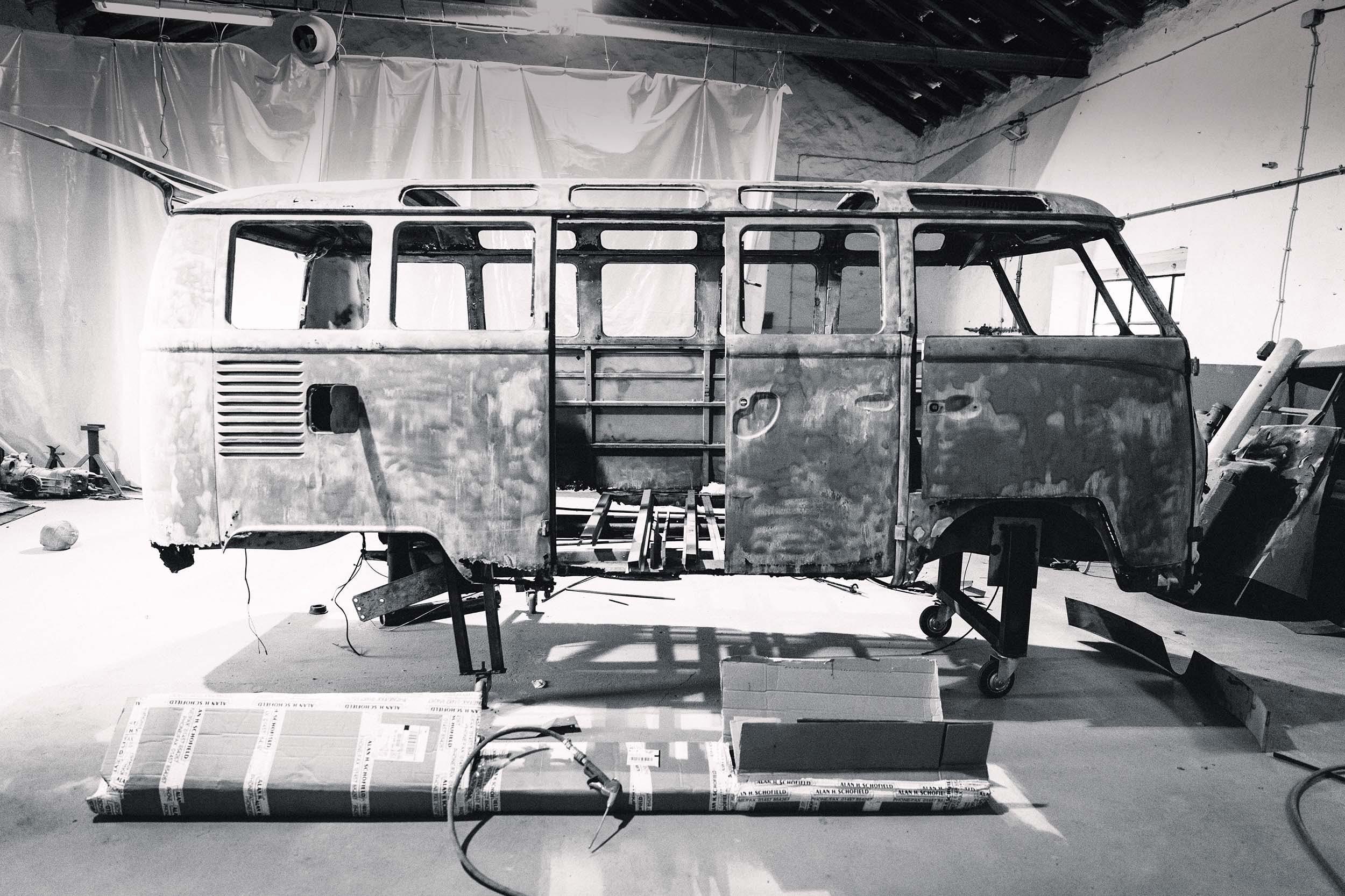 Very rare 21 window VW Samba restoration.