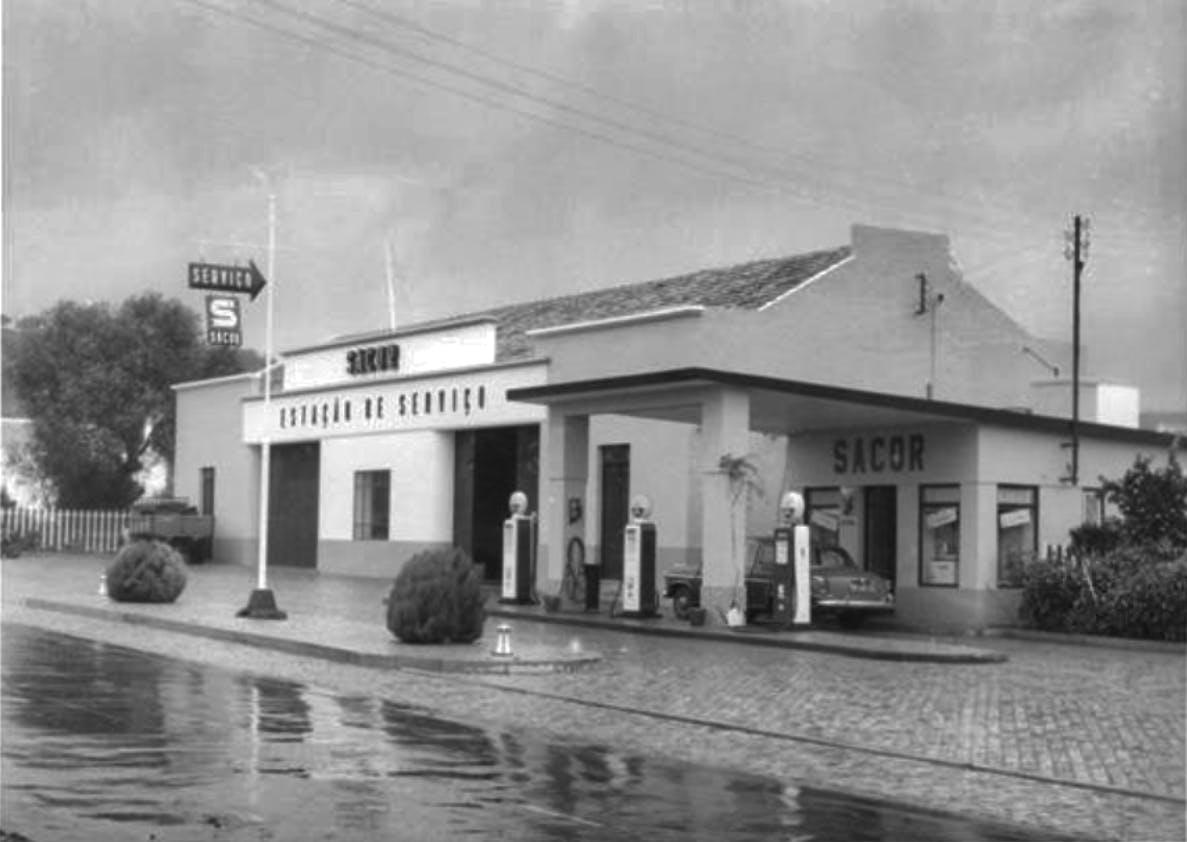 Siesta Campers base back in 1955 at the Sacor garage São Bras De Alportel.