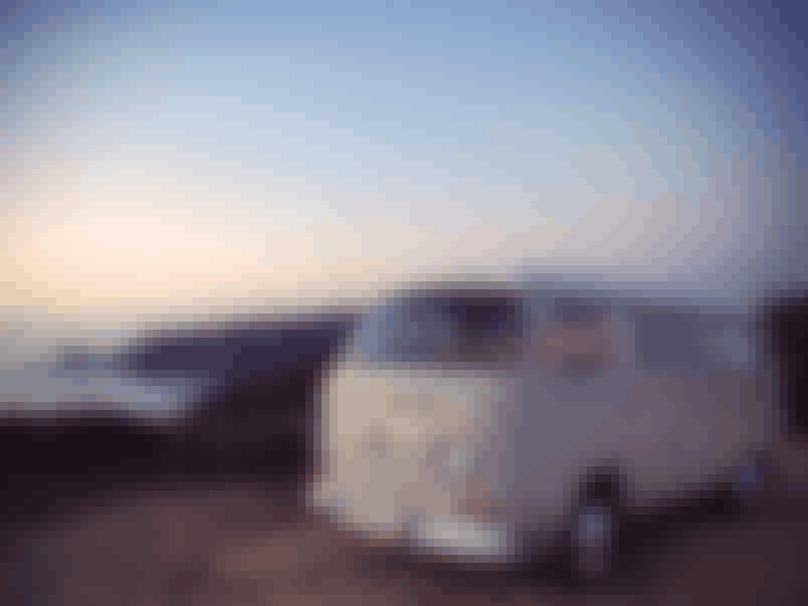 Vintage T2 VW camper on the best Portugal road trip.
