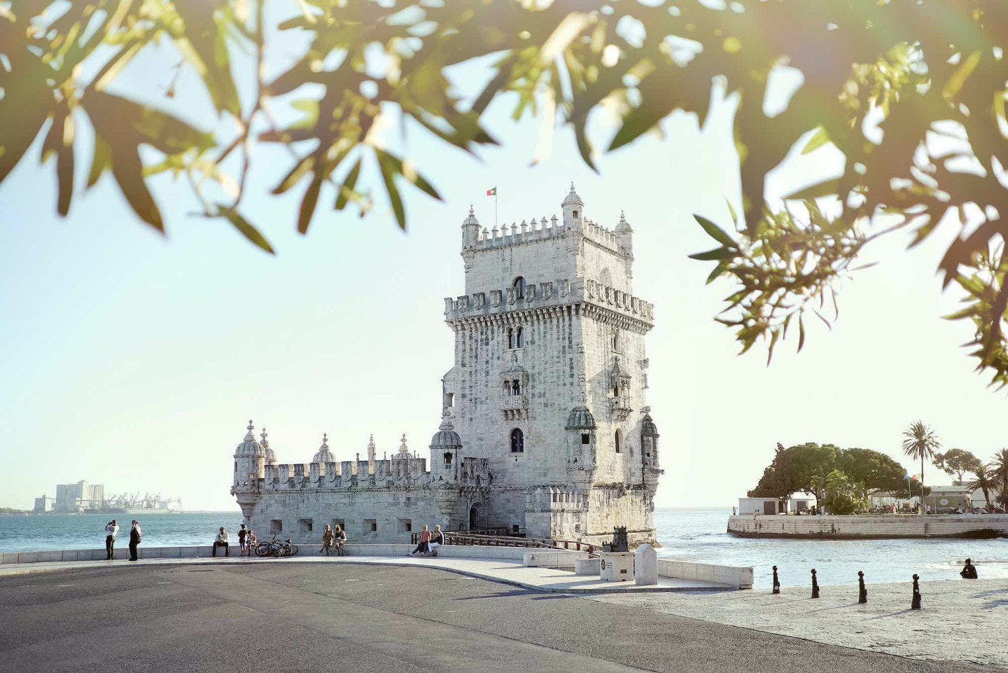 Watch the sunset at Torre de Belem, Lisbon's 16th century fortress.