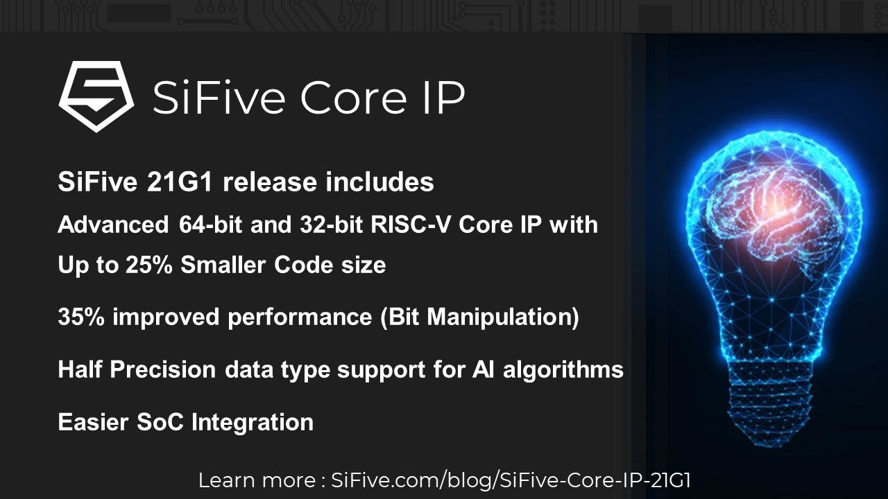 SiFive 21G1 Release Webinar