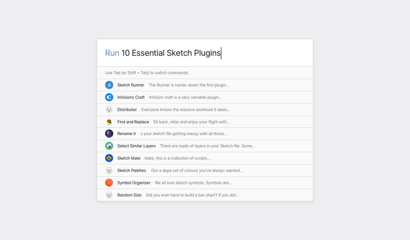 10 Essencial Sketch plugins