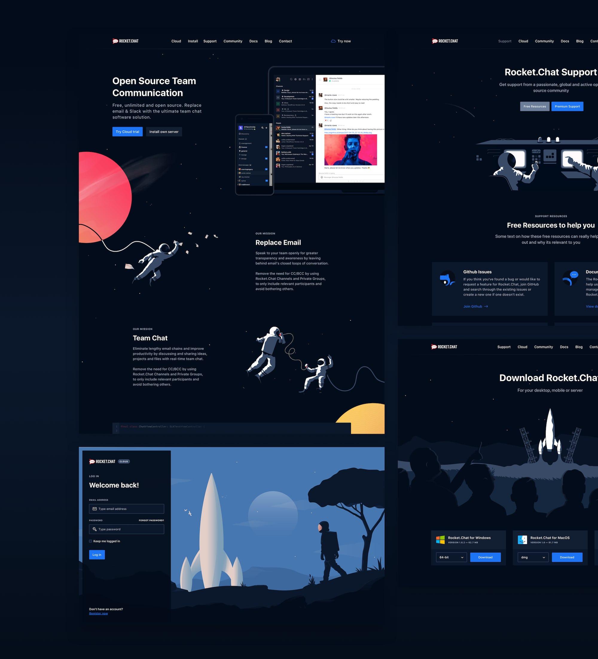 Rocket.Chat Website