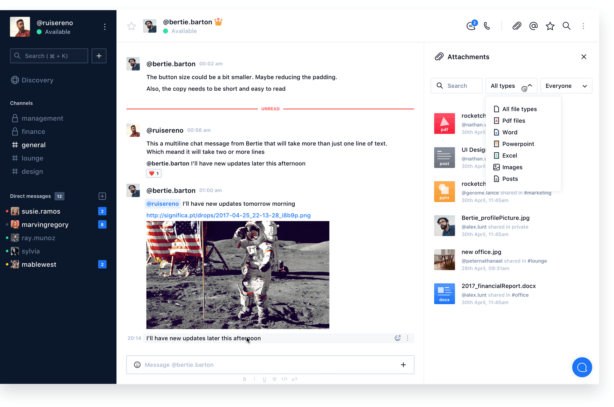 Rocket.Chat Desktop