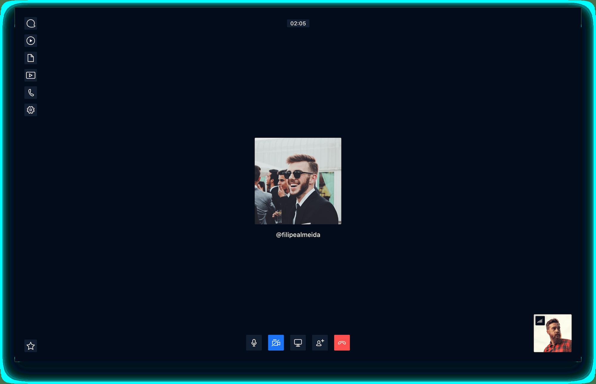 Rocket.Chat Video Call Desktop