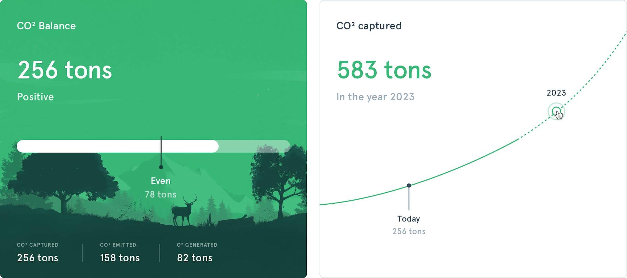 Reforestum Carbon Footprint Positive