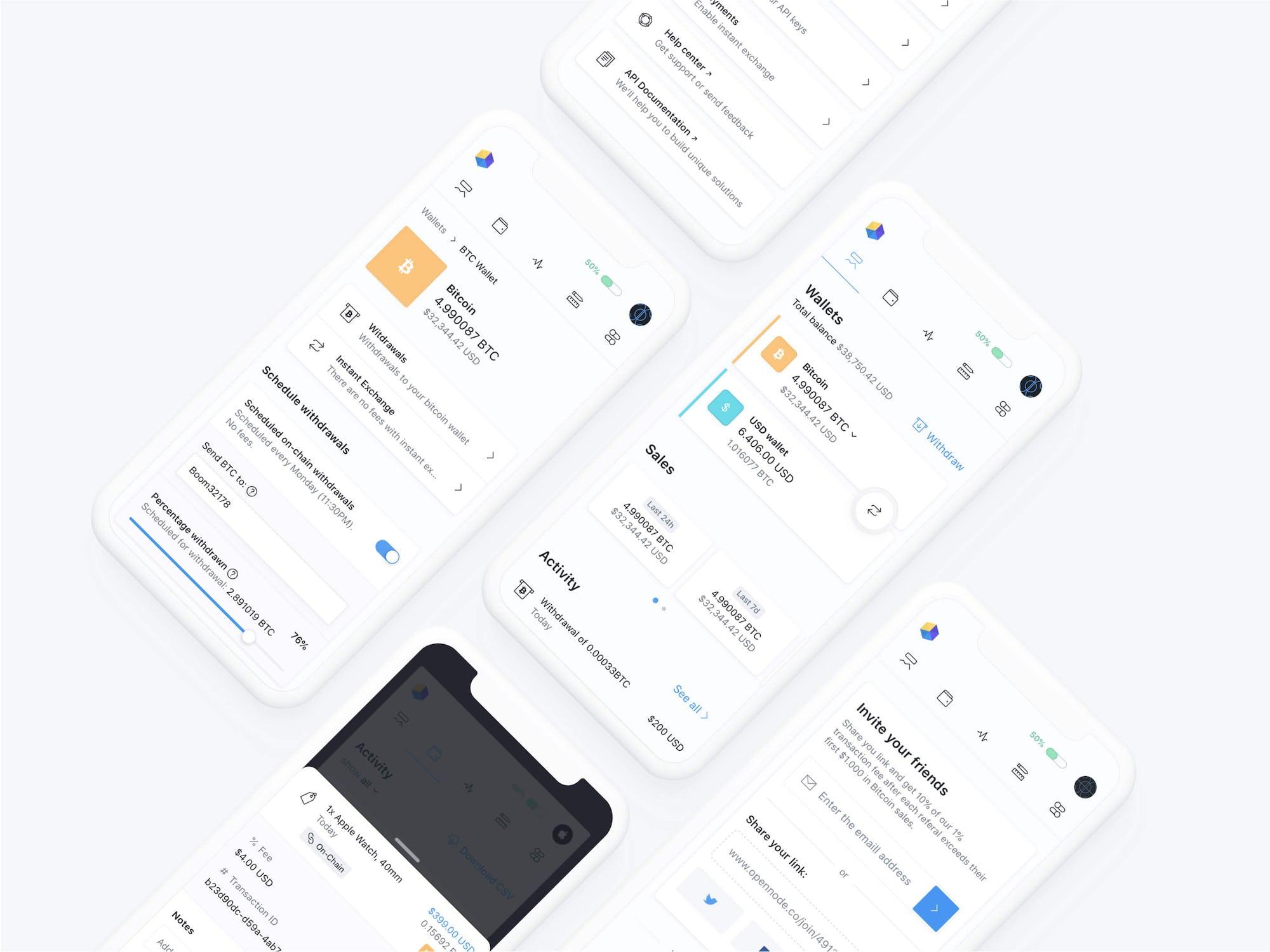 Opennode Platform Mobile