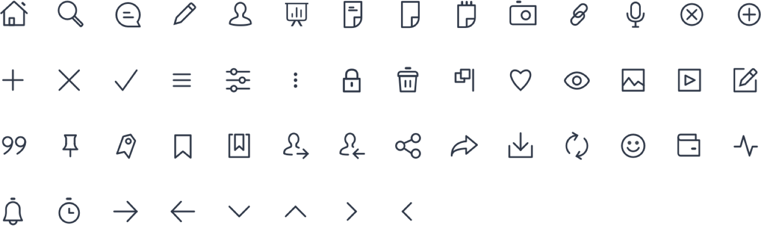 AKASHA Dapp Iconset