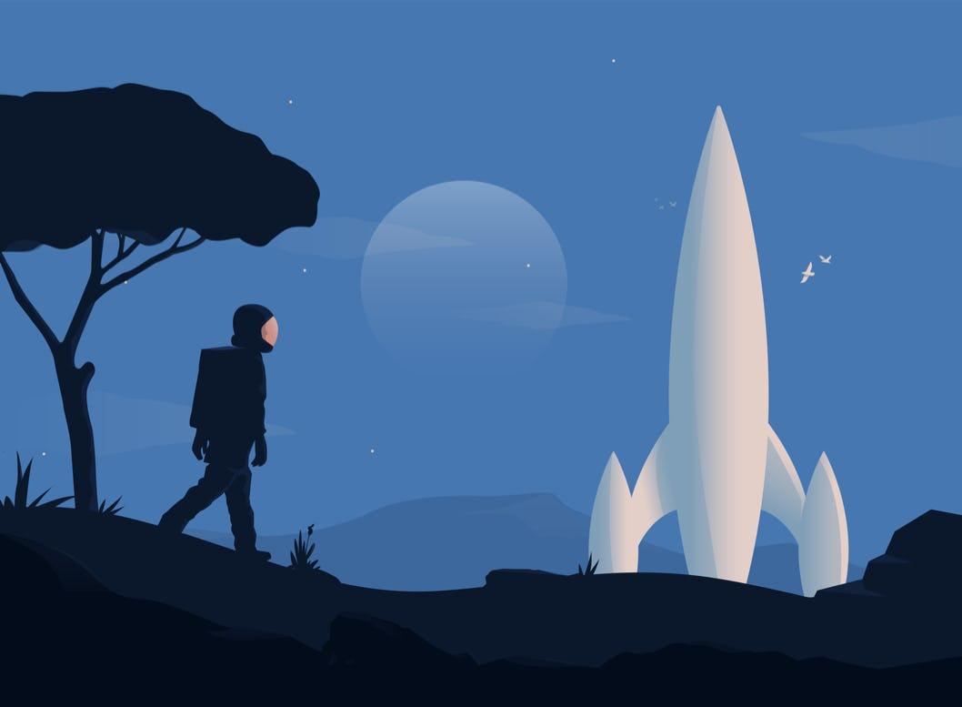 Rocket.Chat Illustration