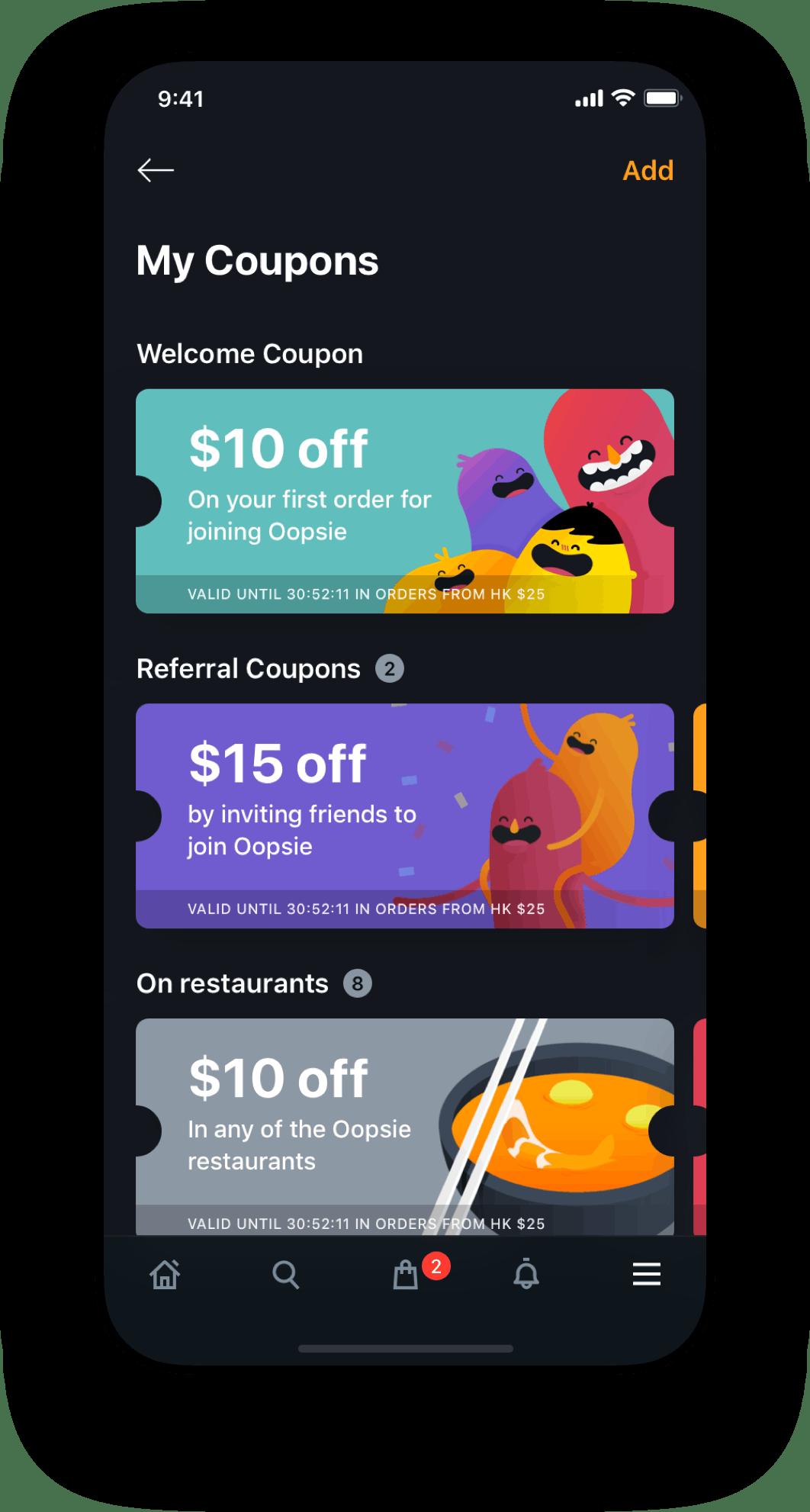 Oopsie App Coupons