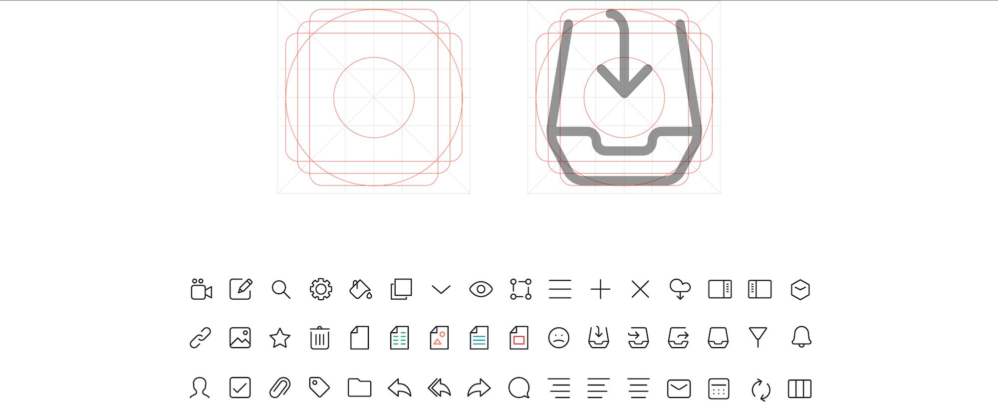 Mailcube App Iconset