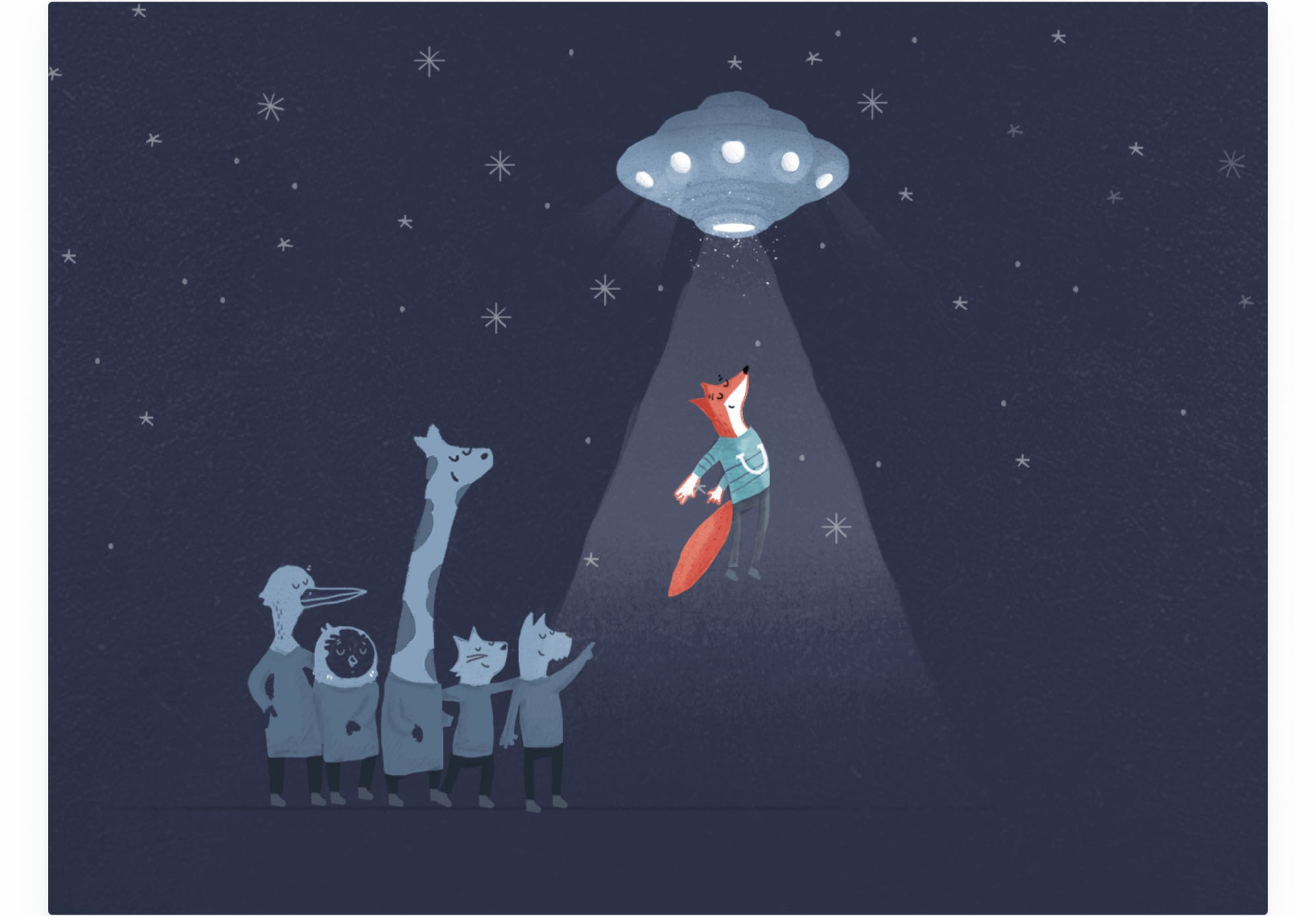 final ufo illustration