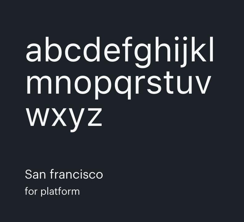 Opennode San Francisco Font
