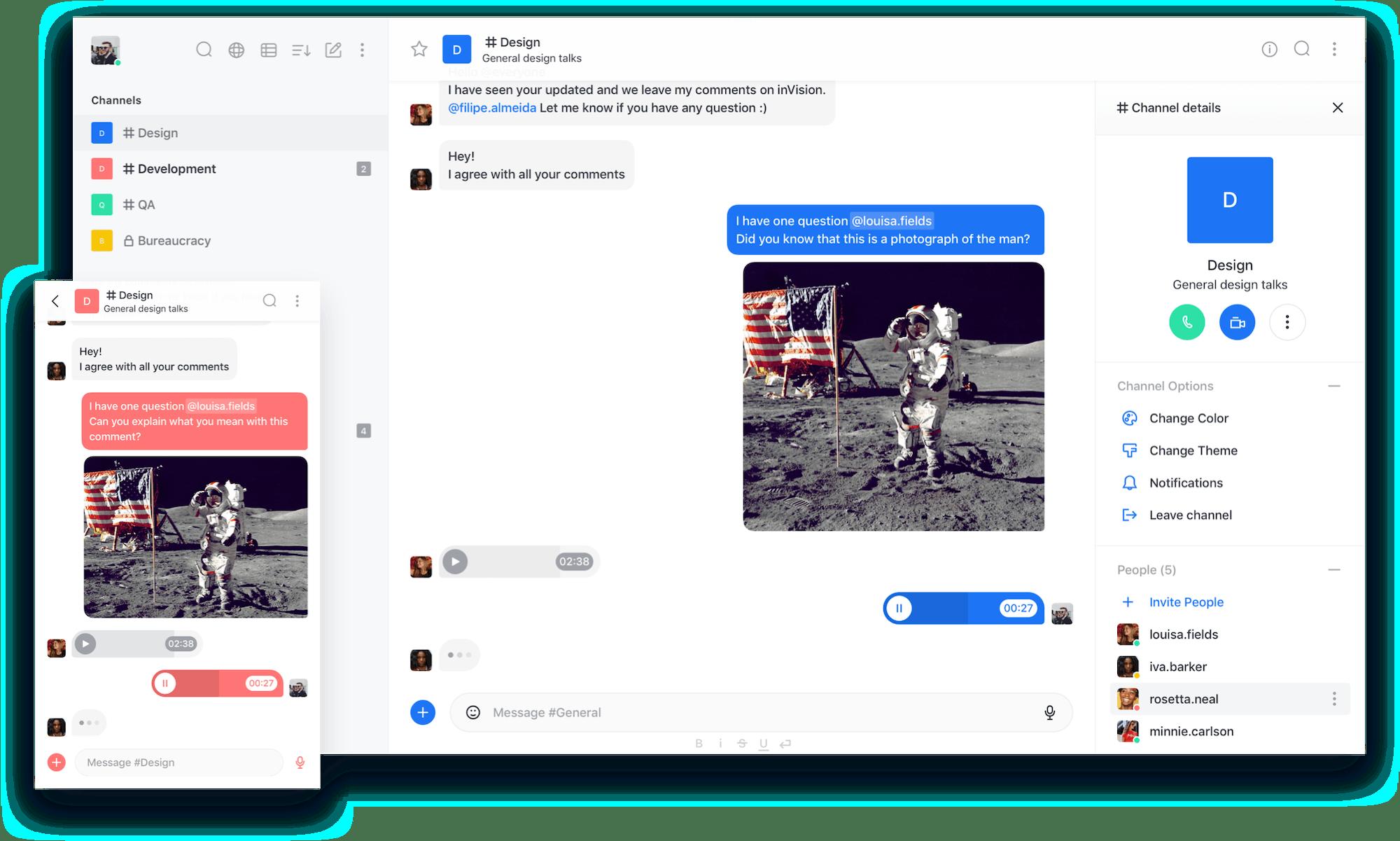 Rocket.Chat Customisation