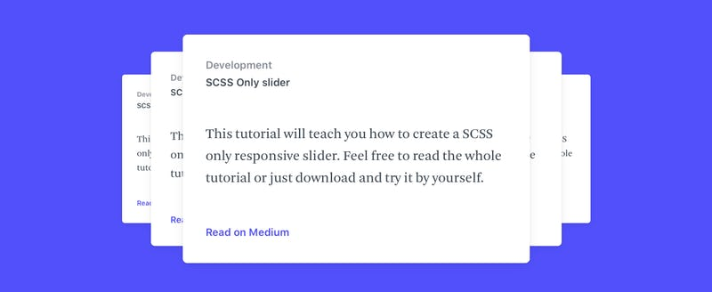 CSS Only Slider