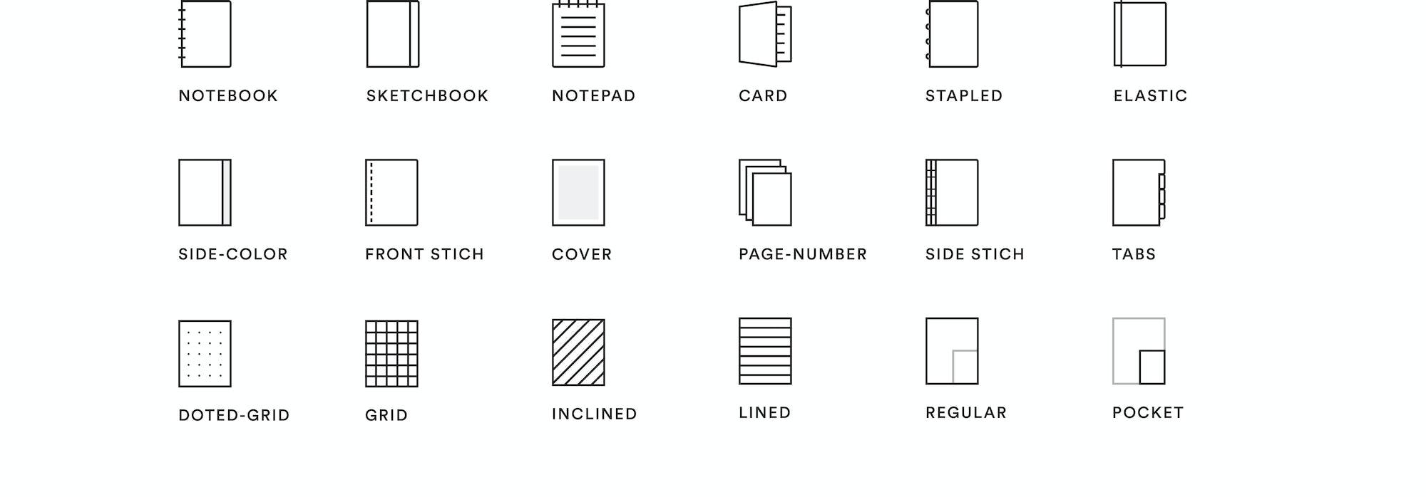 Mishmash Notebook Iconset