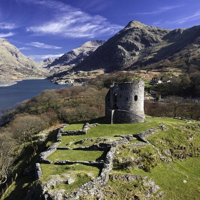 Dolbadarn Castle - a ruined north Wales fortress