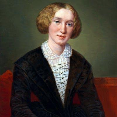 'George Eliot' - Victorian novelist Mary Ann Evans