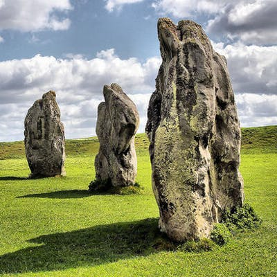 Avebury, Wiltshire - the largest stone circle in the world