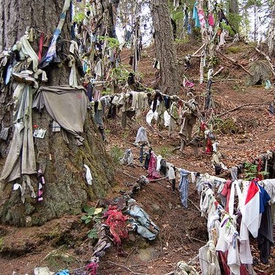 The Clootie Well - a pagan tradition lives on in Scotland