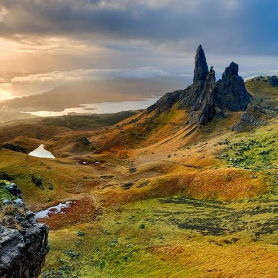 The Old Man of Storr - the sleeping giant of Skye