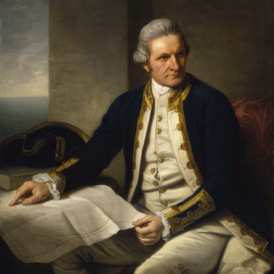 Captain Cook - one of Britain's greatest explorers