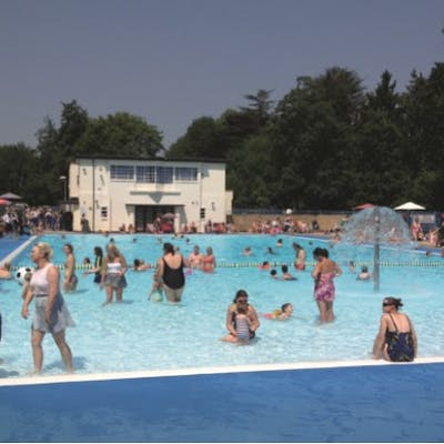 Tooting Bec Lido - one of London's cool pools