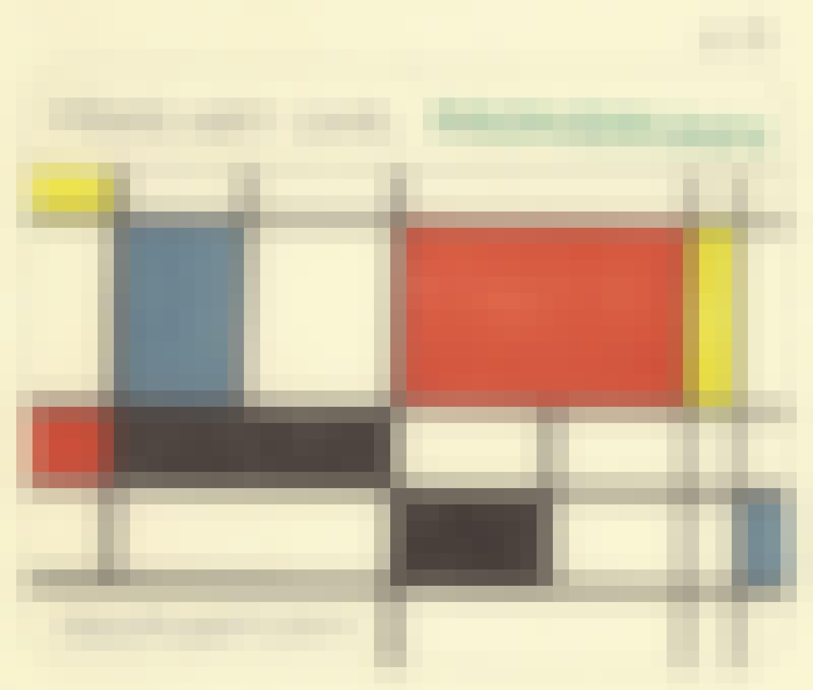 Make art like Mondrian - Sketchplanations