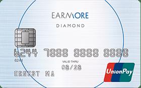 安信EarnMORE銀聯卡,八達通自動增值可獲2%回贈。