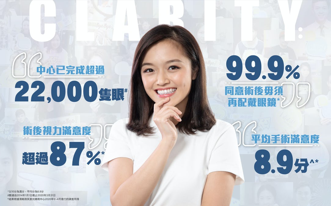 DBS信用卡清晰微笑矯視中心微笑矯視$26,100(原價:$29,000)
