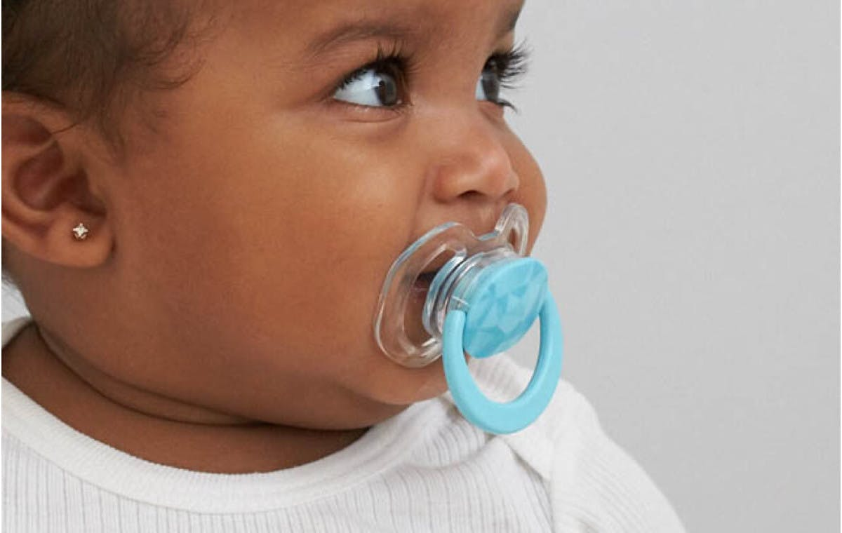 The Palate-Support Pacifier