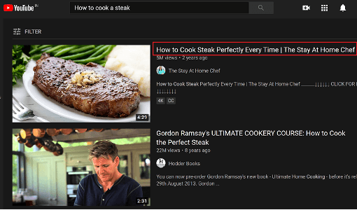 tips for youtube video titles