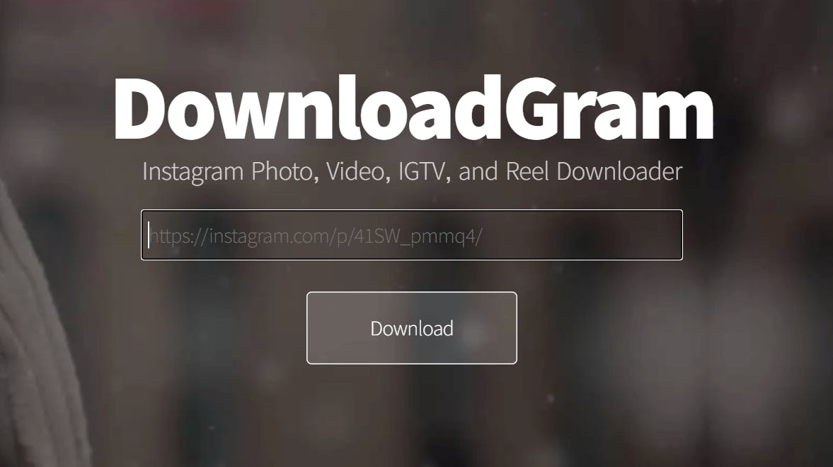 best online instagram video downloader