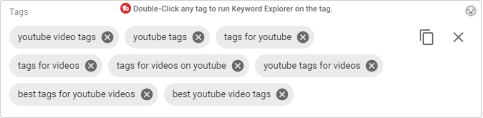 youtube video tags and categories for more exposure