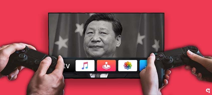 restrição china videogames