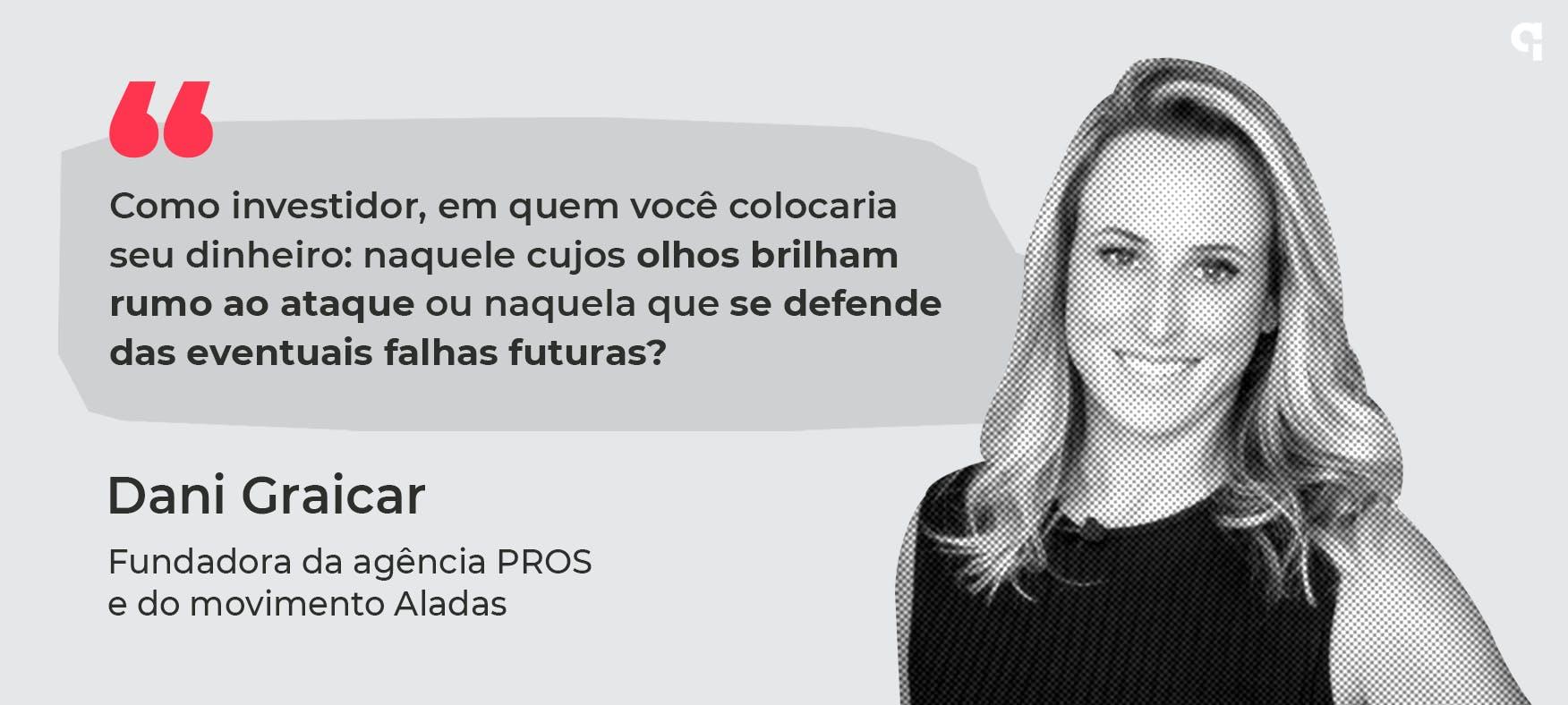Daniela Graicar, fundadora da agencia PROS e do movimento Aladas