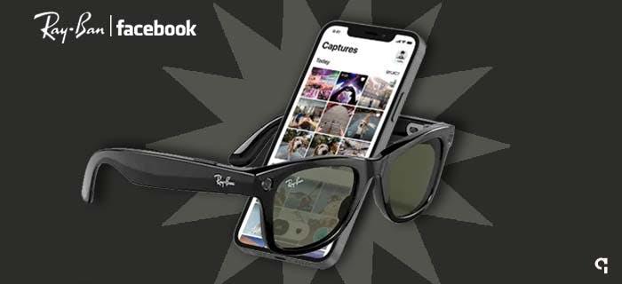 Ray-Ban e Facebook lançam Ray-Ban Stories
