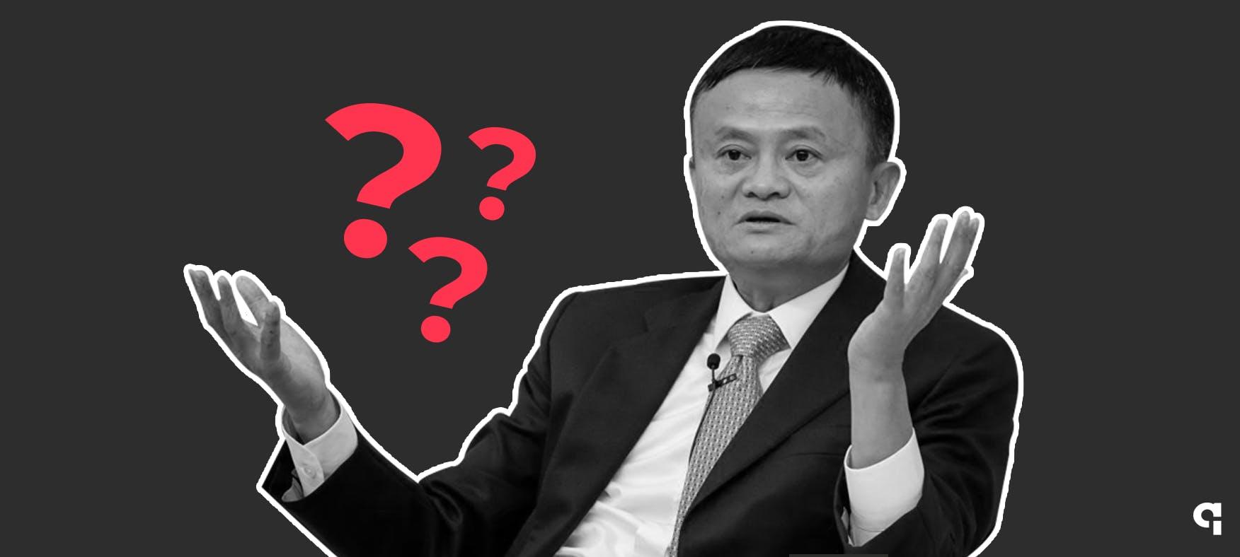 Onde esta Jack Ma