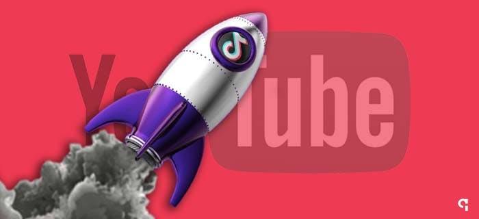 Tiktok ultrapassa Youtube