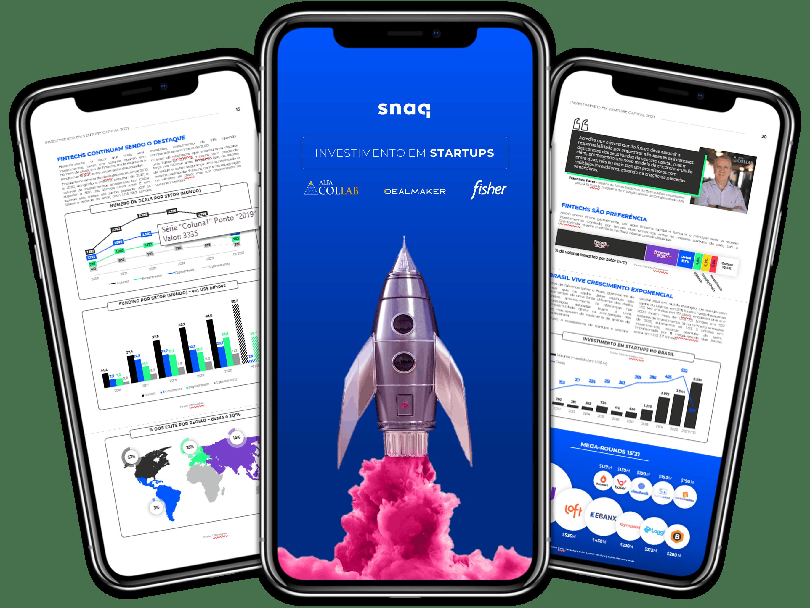 Report Investimento em Startups 2021