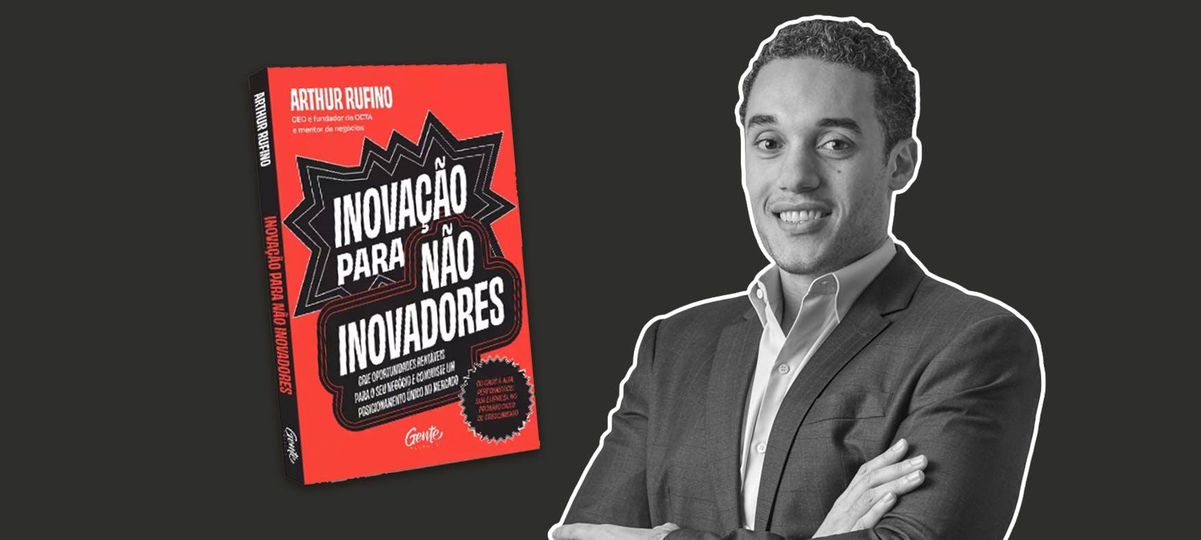 Arthur Rufino e seu livro