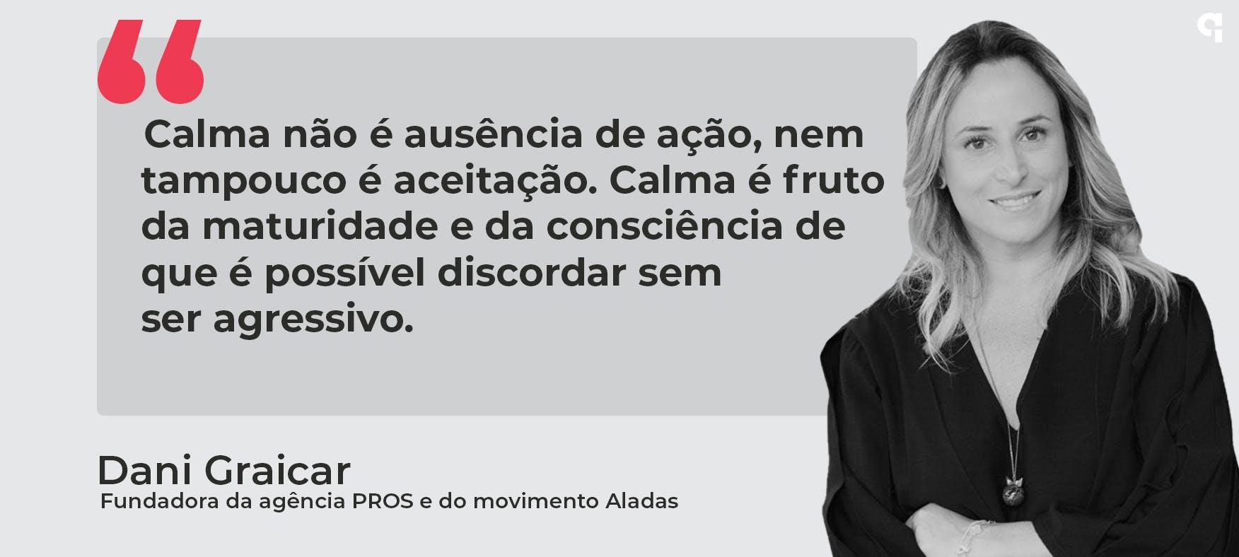 Dani Graciar, fundadora da Agência PROS e do movimento Aladas