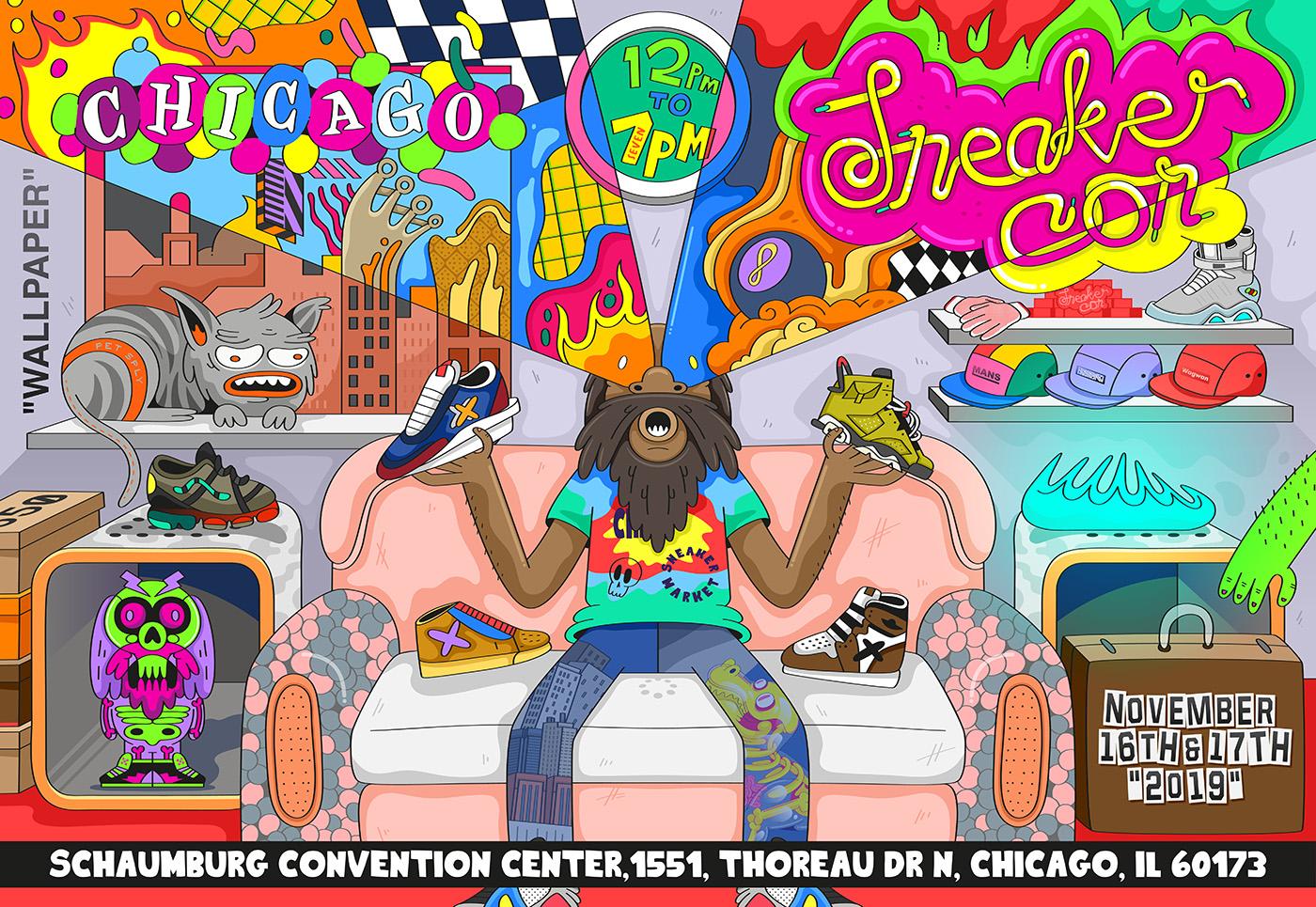 Sneaker Con - Sneaker Con Chicago