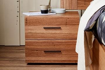 Wall-attachment system for drawers (anti-tipping)