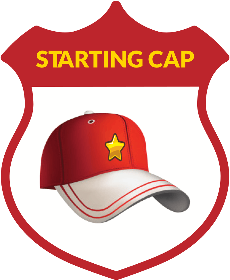 Starting Cap badge