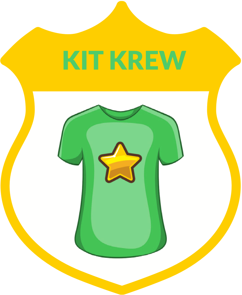Kit Krew badge