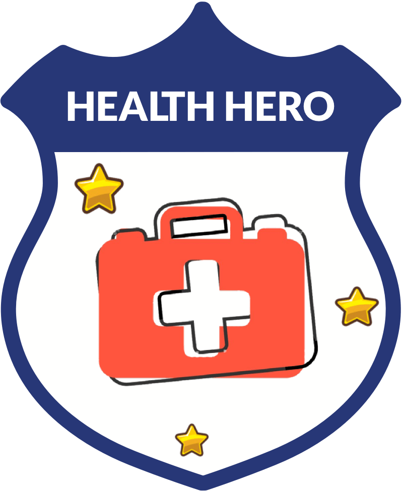 Health Hero badge