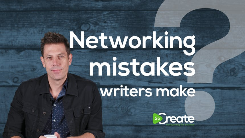 Ricky Roxburgh - Networking Mistakes Writers Make Preview Image