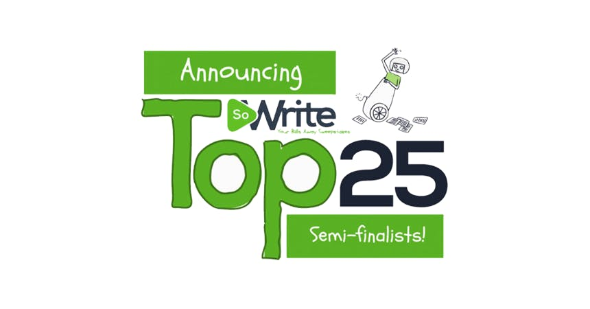 Announcing the So Write Your Bills Away Sweepstakes top 25 semi-finalists!