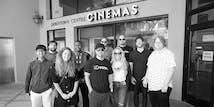 SoCreate团队的部分成员在SoCreate奥斯卡挑战赛的电影外景地